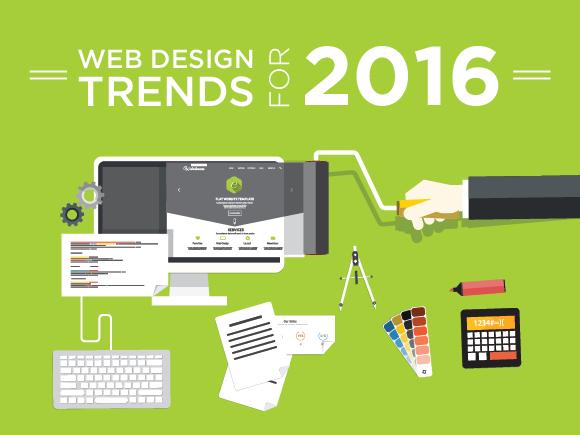 web design trends of 2016
