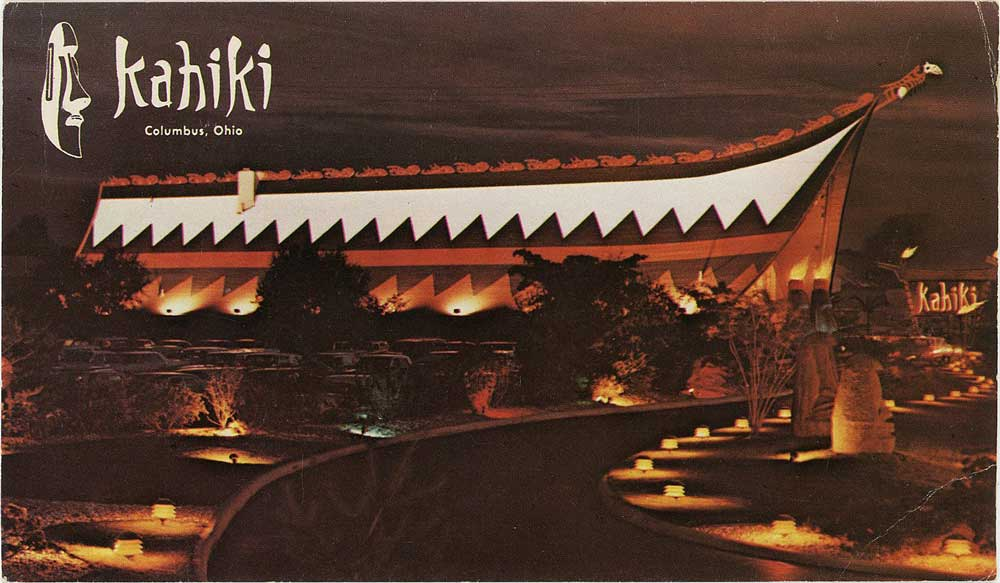 Kahiki Supper Club is a famous restaurant founded in Columbus, Ohio