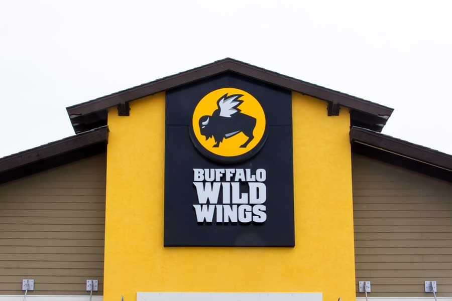Buffalo Wild Wings is a famous restaurant founded in Columbus, Ohio