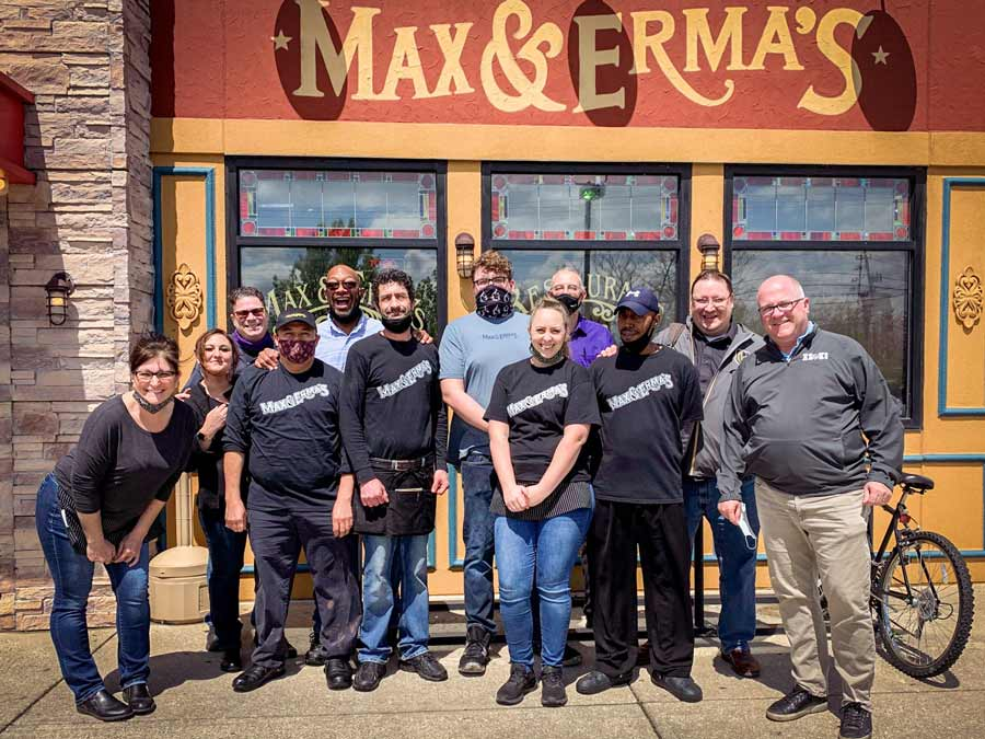 Max and Ermas began in Columbus, Ohio and is haunted