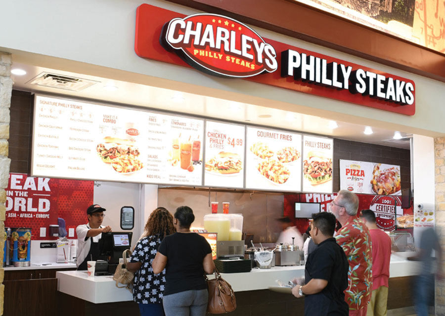 Charlie's Philly Steaks is a famous restaurant founded in Columbus, Ohio