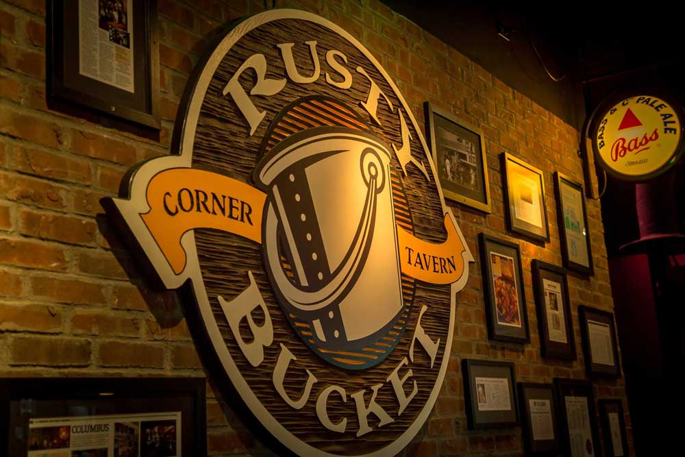 Rusty Buckey is a famous restaurant chain founded in Columbus, Ohio