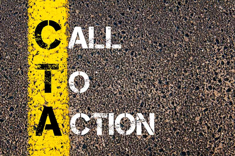 Call To Action CTA for web design