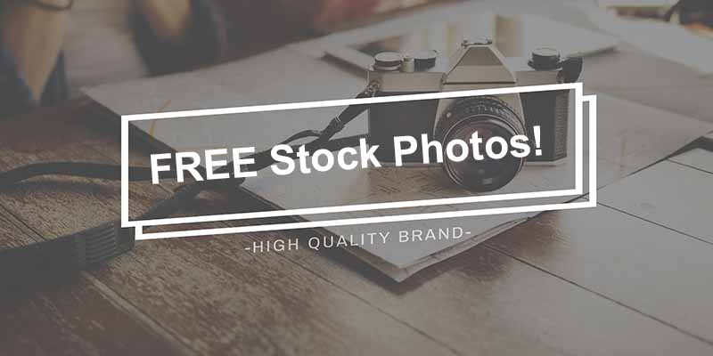 Get FREE stock photos for your website or blog!