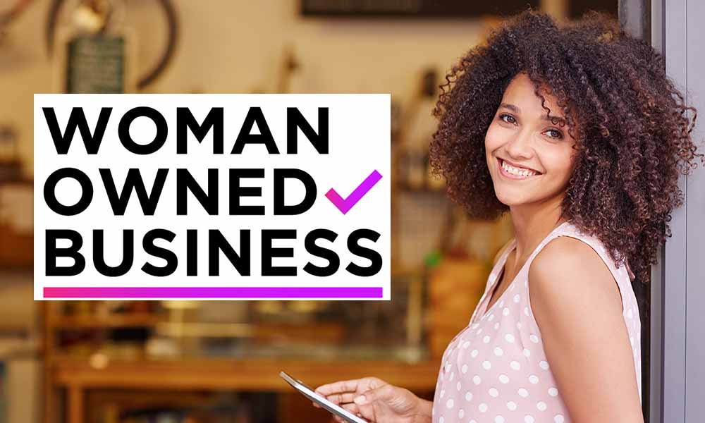 Woman Owned Business, Female led business